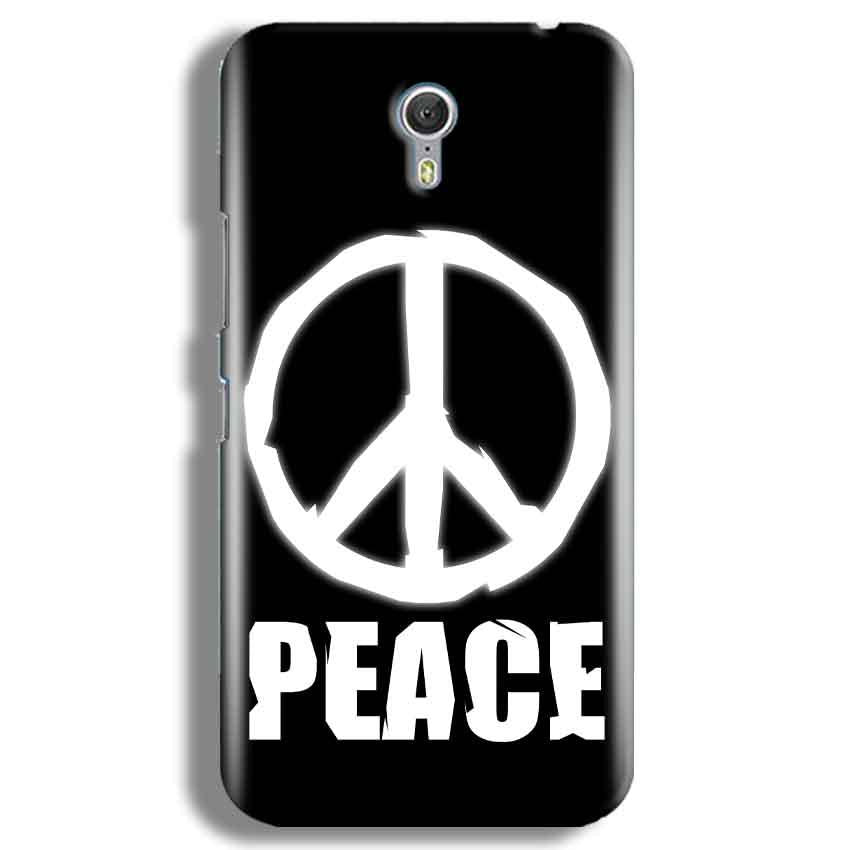Lenevo ZUK Z1 Mobile Covers Cases Peace Sign In White - Lowest Price - Paybydaddy.com