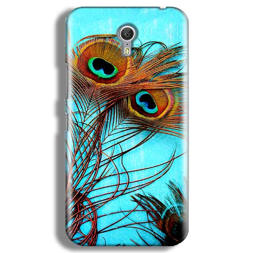 Lenevo ZUK Z1 Mobile Covers Cases Peacock blue wings - Lowest Price - Paybydaddy.com