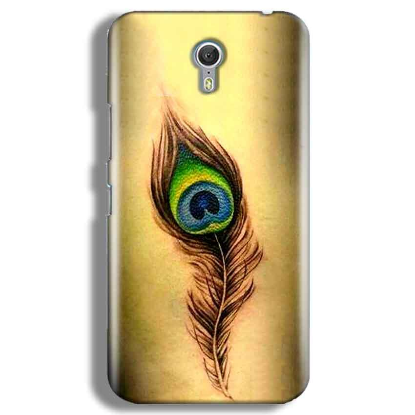 Lenevo ZUK Z1 Mobile Covers Cases Peacock coloured art - Lowest Price - Paybydaddy.com