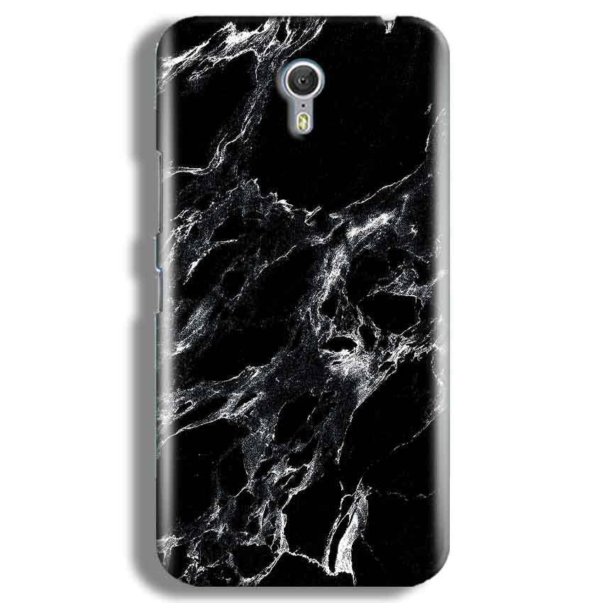Lenevo ZUK Z1 Mobile Covers Cases Pure Black Marble Texture - Lowest Price - Paybydaddy.com