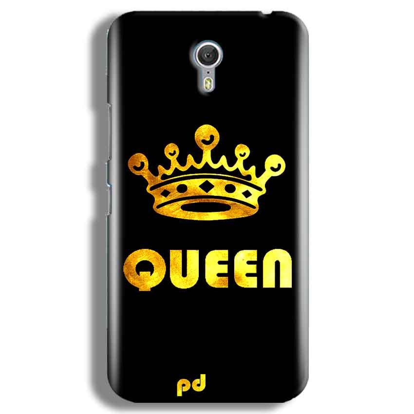 Lenevo ZUK Z1 Mobile Covers Cases Queen With Crown in gold - Lowest Price - Paybydaddy.com