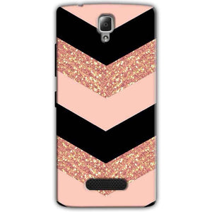 Lenovo A2010 Mobile Covers Cases Black down arrow Pattern - Lowest Price - Paybydaddy.com
