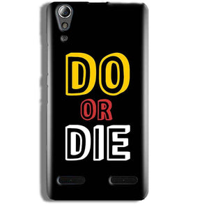Lenovo A6000 Mobile Covers Cases DO OR DIE - Lowest Price - Paybydaddy.com