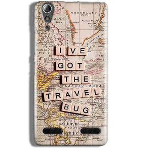 Lenovo A6000 Mobile Covers Cases Live Travel Bug - Lowest Price - Paybydaddy.com