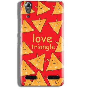 Lenovo A6000 Mobile Covers Cases Love Triangle - Lowest Price - Paybydaddy.com