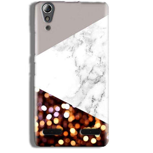 Lenovo A6000 Mobile Covers Cases MARBEL GLITTER - Lowest Price - Paybydaddy.com