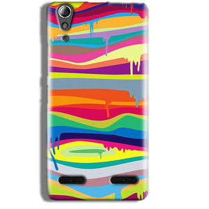 Lenovo A6000 Mobile Covers Cases Melted colours - Lowest Price - Paybydaddy.com