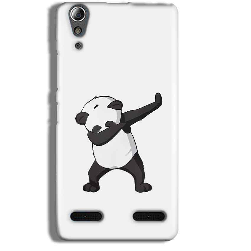 Lenovo A6000 Mobile Covers Cases Panda Dab - Lowest Price - Paybydaddy.com