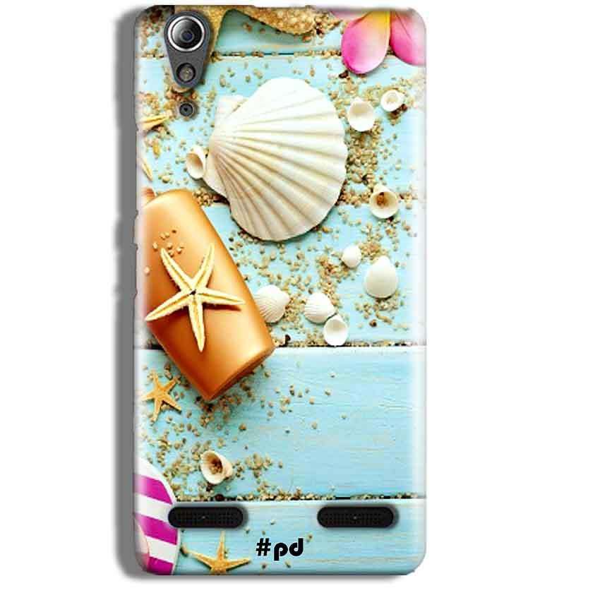 Lenovo A6000 Mobile Covers Cases Pearl Star Fish - Lowest Price - Paybydaddy.com