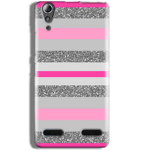 Lenovo A6000 Mobile Covers Cases Pink colour pattern - Lowest Price - Paybydaddy.com