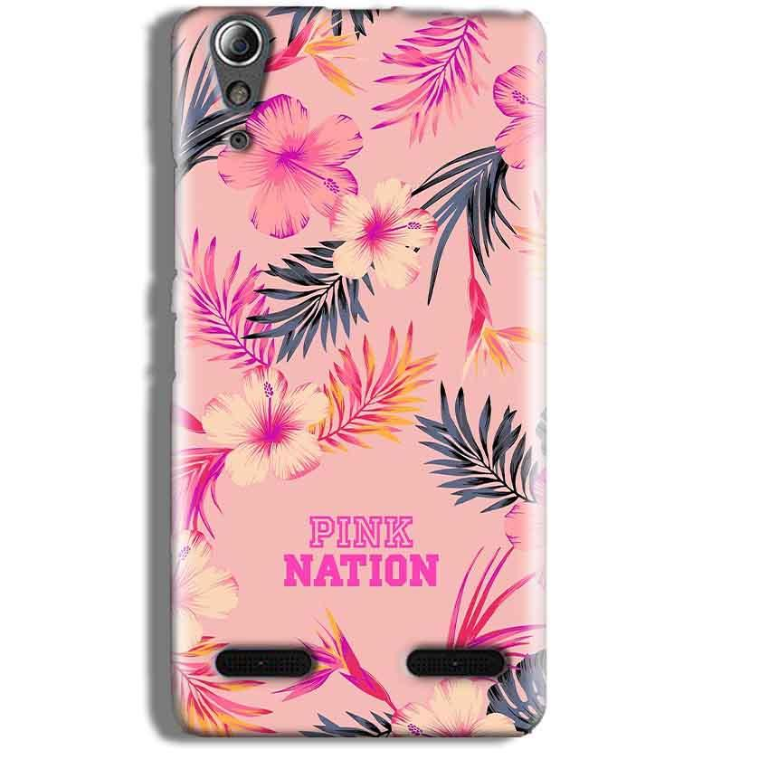 Lenovo A6000 Mobile Covers Cases Pink nation - Lowest Price - Paybydaddy.com