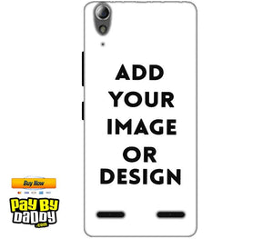 Customized Lenovo A6000 Plus Mobile Phone Covers & Back Covers with your Text & Photo