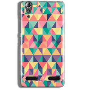 Lenovo A6000 Mobile Covers Cases Prisma coloured design - Lowest Price - Paybydaddy.com