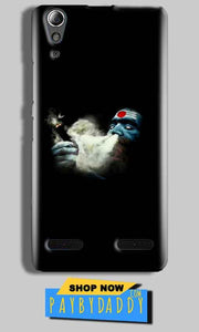 Lenovo A6000 Mobile Covers Cases Shiva Aghori Smoking - Lowest Price - Paybydaddy.com
