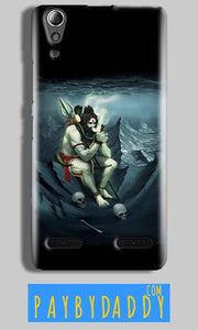 Lenovo A6000 Mobile Covers Cases Shiva Smoking - Lowest Price - Paybydaddy.com