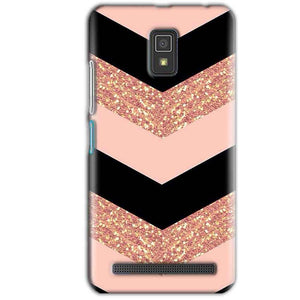 Lenovo A6600 Mobile Covers Cases Black down arrow Pattern - Lowest Price - Paybydaddy.com
