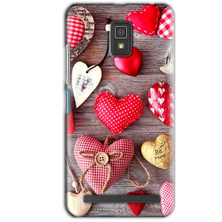 Lenovo A6600 Mobile Covers Cases Hearts- Lowest Price - Paybydaddy.com