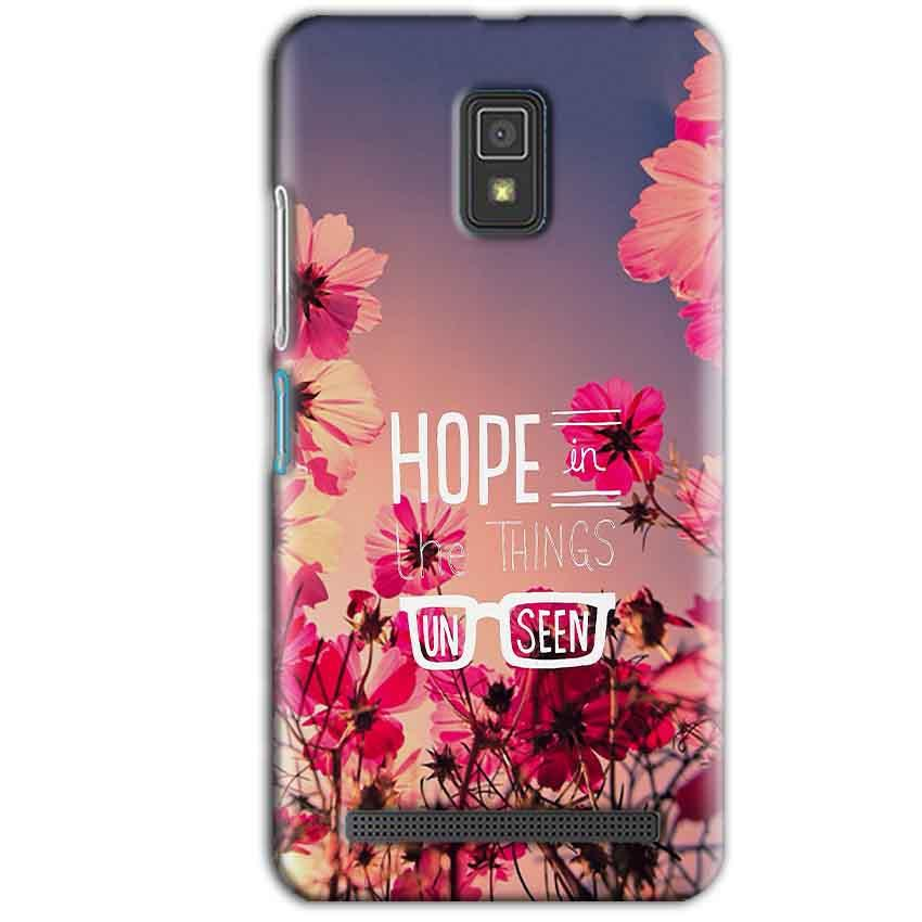 Lenovo A6600 Mobile Covers Cases Hope in the Things Unseen- Lowest Price - Paybydaddy.com