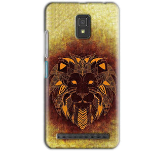 Lenovo A6600 Mobile Covers Cases Lion face art - Lowest Price - Paybydaddy.com