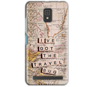 Lenovo A6600 Mobile Covers Cases Live Travel Bug - Lowest Price - Paybydaddy.com