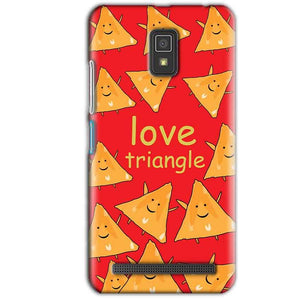 Lenovo A6600 Mobile Covers Cases Love Triangle - Lowest Price - Paybydaddy.com