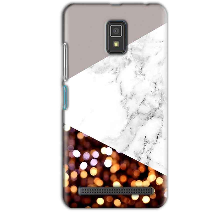 Lenovo A6600 Mobile Covers Cases MARBEL GLITTER - Lowest Price - Paybydaddy.com