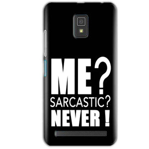 Lenovo A6600 Mobile Covers Cases Me sarcastic - Lowest Price - Paybydaddy.com