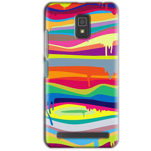 Lenovo A6600 Mobile Covers Cases Melted colours - Lowest Price - Paybydaddy.com