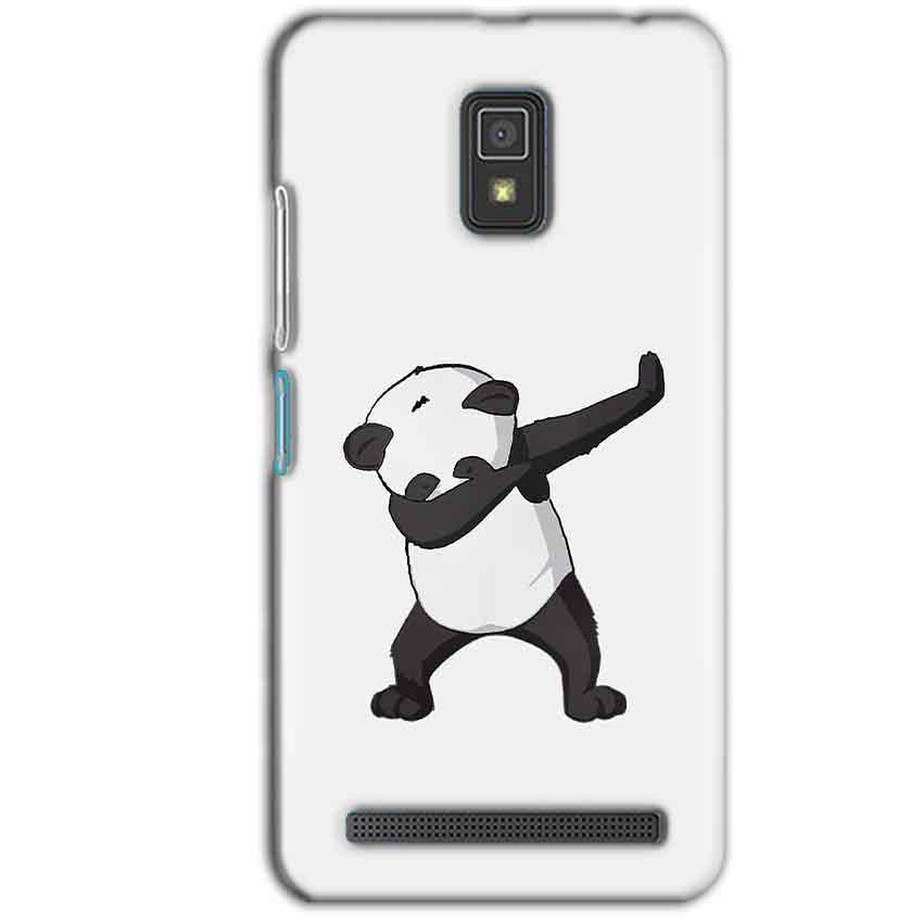 Lenovo A6600 Mobile Covers Cases Panda Dab - Lowest Price - Paybydaddy.com