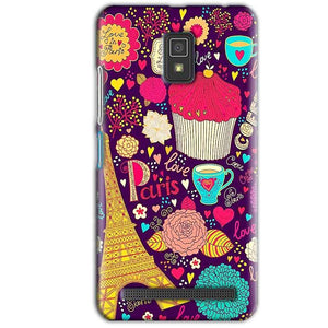 Lenovo A6600 Mobile Covers Cases Paris Sweet love - Lowest Price - Paybydaddy.com