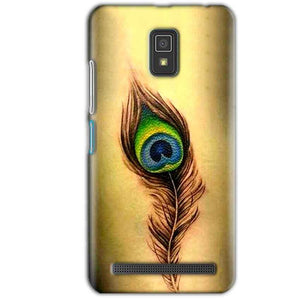 Lenovo A6600 Mobile Covers Cases Peacock coloured art - Lowest Price - Paybydaddy.com