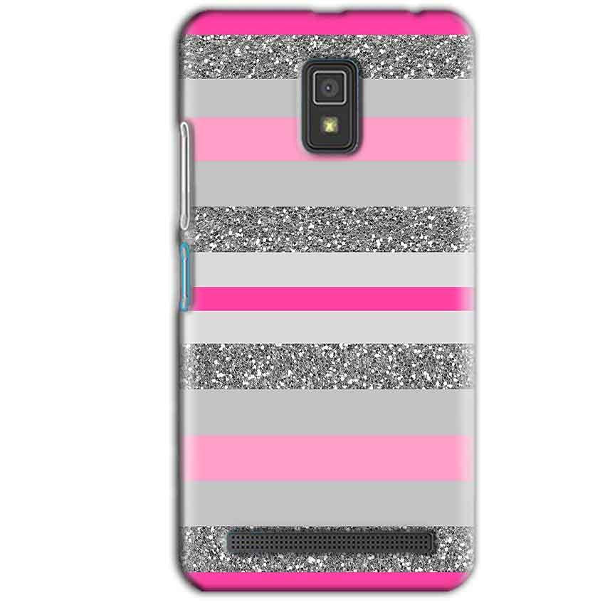 Lenovo A6600 Mobile Covers Cases Pink colour pattern - Lowest Price - Paybydaddy.com