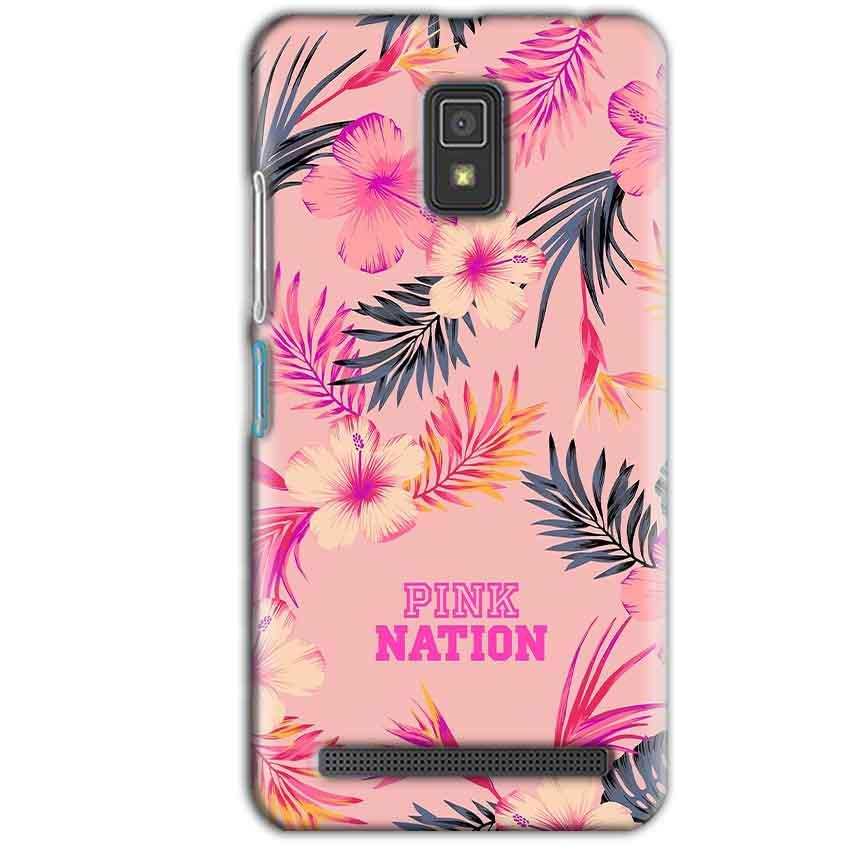 Lenovo A6600 Mobile Covers Cases Pink nation - Lowest Price - Paybydaddy.com