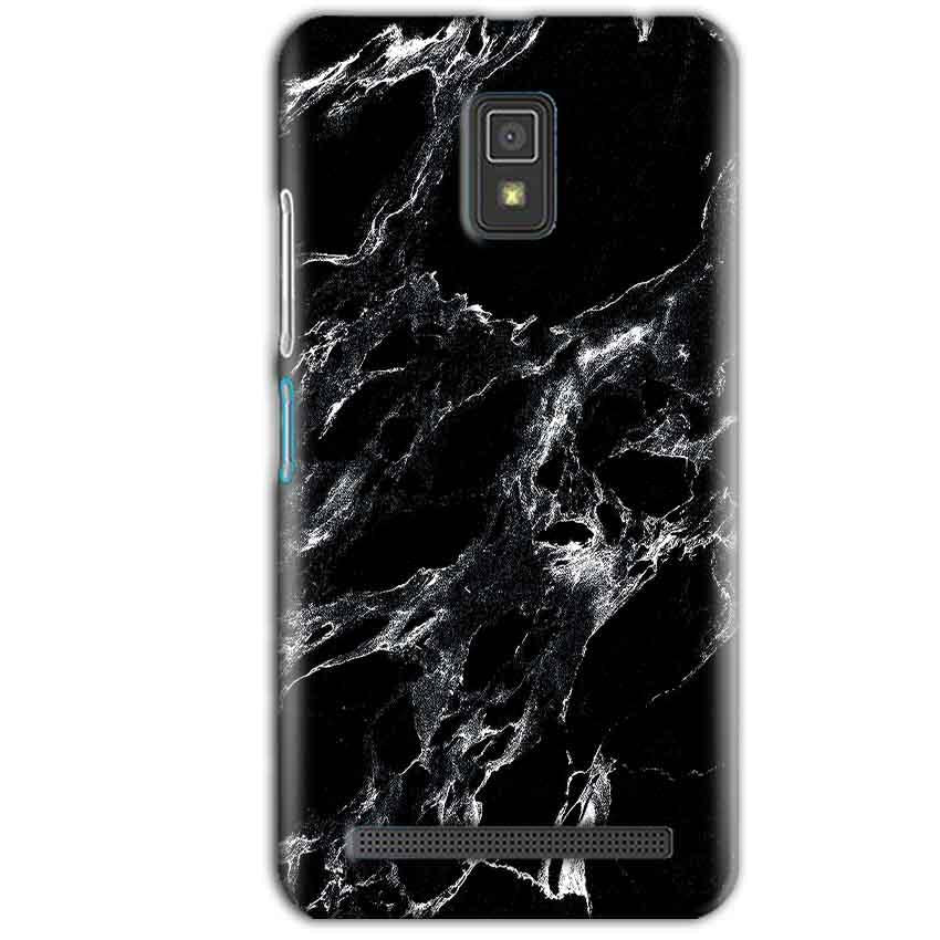 Lenovo A6600 Mobile Covers Cases Pure Black Marble Texture - Lowest Price - Paybydaddy.com