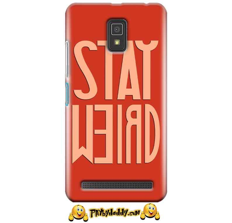 Lenovo A6600 Mobile Covers Cases Stay Weird - Lowest Price - Paybydaddy.com