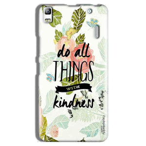 Lenovo A7000 Mobile Covers Cases Do all things with kindness - Lowest Price - Paybydaddy.com