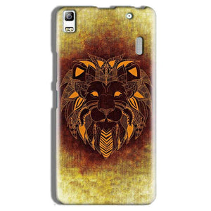 Lenovo A7000 Mobile Covers Cases Lion face art - Lowest Price - Paybydaddy.com