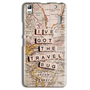 Lenovo A7000 Mobile Covers Cases Live Travel Bug - Lowest Price - Paybydaddy.com