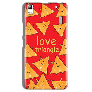 Lenovo A7000 Mobile Covers Cases Love Triangle - Lowest Price - Paybydaddy.com