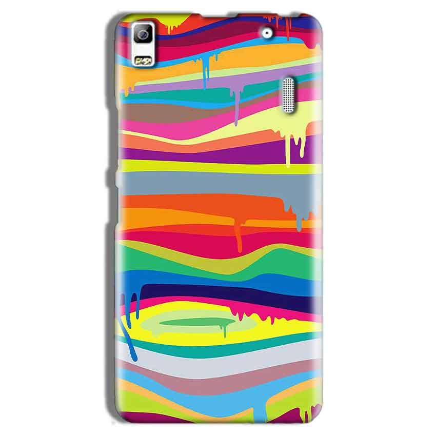 Lenovo A7000 Mobile Covers Cases Melted colours - Lowest Price - Paybydaddy.com