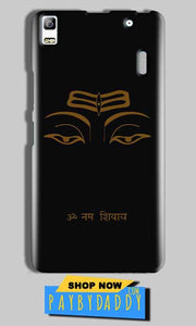 Lenovo A7000 Mobile Covers Cases Om Namaha Gold Black - Lowest Price - Paybydaddy.com