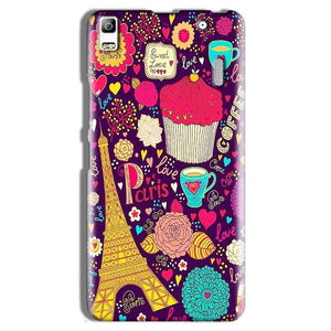 Lenovo A7000 Mobile Covers Cases Paris Sweet love - Lowest Price - Paybydaddy.com