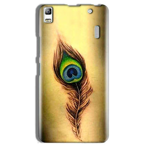 Lenovo A7000 Mobile Covers Cases Peacock coloured art - Lowest Price - Paybydaddy.com