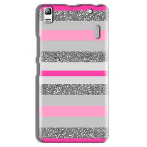 Lenovo A7000 Mobile Covers Cases Pink colour pattern - Lowest Price - Paybydaddy.com