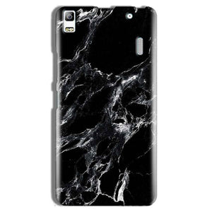 Lenovo A7000 Mobile Covers Cases Pure Black Marble Texture - Lowest Price - Paybydaddy.com