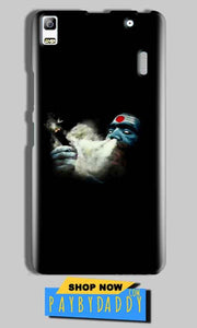 Lenovo A7000 Mobile Covers Cases Shiva Aghori Smoking - Lowest Price - Paybydaddy.com