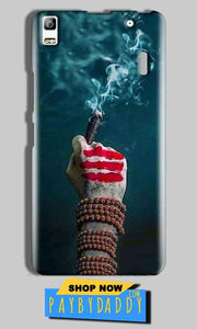 Lenovo A7000 Mobile Covers Cases Shiva Hand With Clilam - Lowest Price - Paybydaddy.com