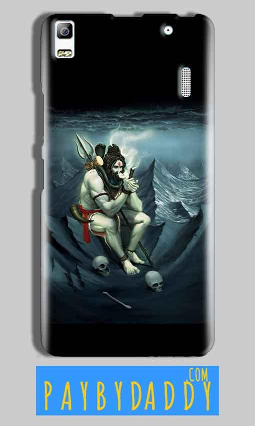 Lenovo A7000 Mobile Covers Cases Shiva Smoking - Lowest Price - Paybydaddy.com