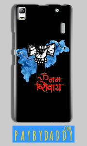 Lenovo A7000 Mobile Covers Cases om namha shivaye with damru - Lowest Price - Paybydaddy.com
