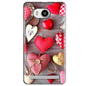 Lenovo A7700 Mobile Covers Cases Hearts- Lowest Price - Paybydaddy.com